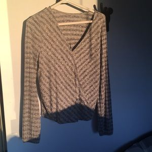 Tops - Wrap front long sleeve FREE ADD ON ITEM